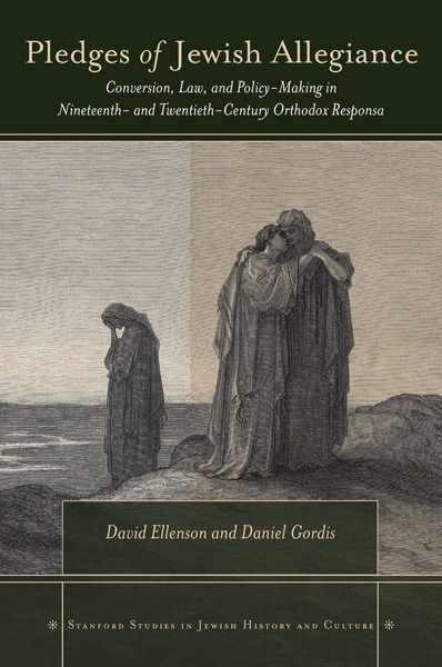 Cover of Pledges of Jewish Allegiance by David Ellenson and Daniel Gordis