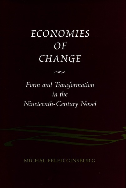 Cover of Economies of Change by Michal Peled Ginsburg