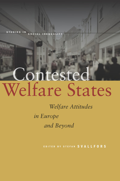 Cover of Contested Welfare States by Edited by Stefan Svallfors
