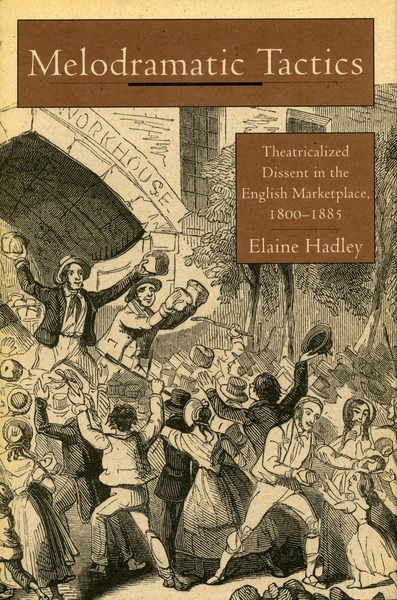 Cover of Melodramatic Tactics by Elaine Hadley