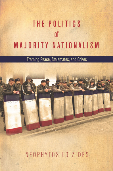 Cover of The Politics of Majority Nationalism by Neophytos Loizides
