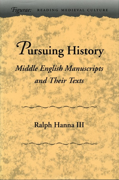 Cover of Pursuing History  by Ralph Hanna III