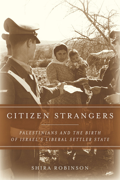 Cover of Citizen Strangers by Shira Robinson