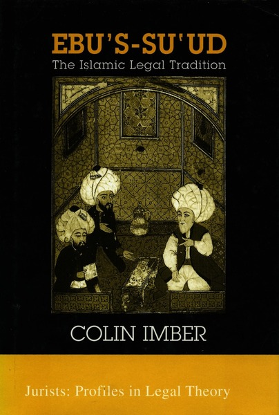 Cover of Ebu's-su`ud by Colin Imber