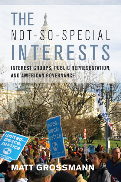 Cover of The Not-So-Special Interests by Matt Grossmann