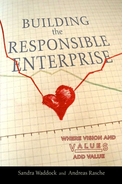 Cover of Building the Responsible Enterprise by Sandra Waddock and Andreas Rasche