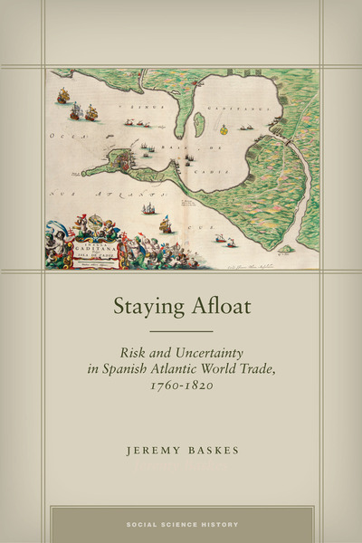 Cover of Staying Afloat by Jeremy Baskes
