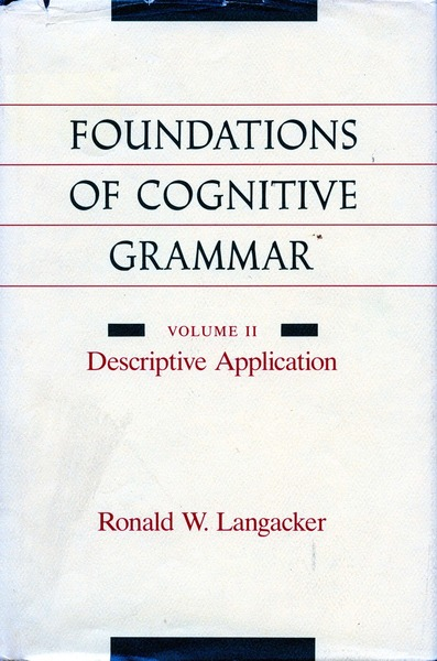 Cover of Foundations of Cognitive Grammar by Ronald W. Langacker