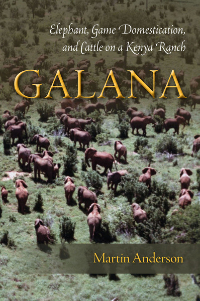 Cover of Galana by Martin Anderson
