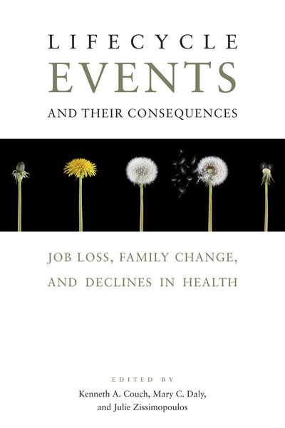 Cover of Lifecycle Events and Their Consequences by Edited by Kenneth A. Couch, Mary C. Daly, and Julie M. Zissimopoulos