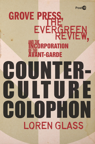 Cover of Counterculture Colophon by Loren Glass