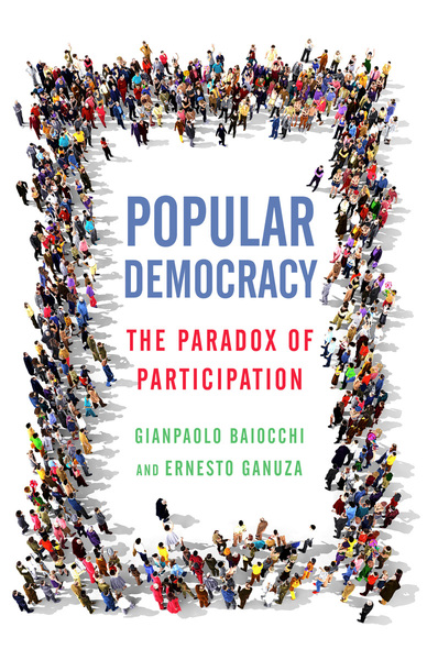 Cover of Popular Democracy by Gianpaolo Baiocchi and Ernesto Ganuza