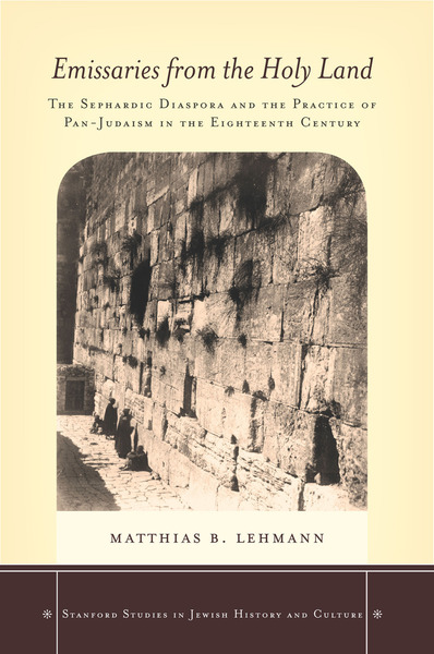 Cover of Emissaries from the Holy Land by Matthias B. Lehmann