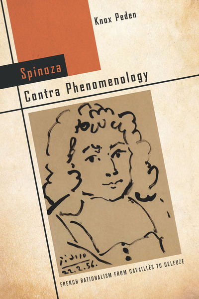Cover of Spinoza Contra Phenomenology by Knox Peden