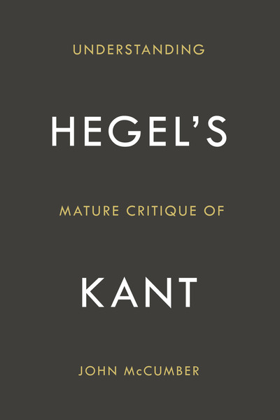Cover of Understanding Hegel