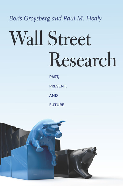 Cover of Wall Street Research by Boris Groysberg and Paul M. Healy
