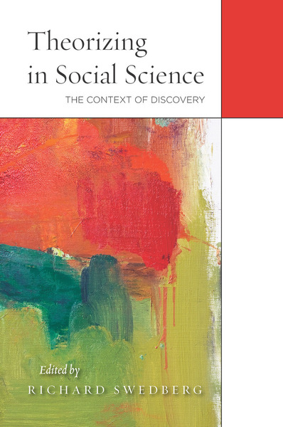 Cover of Theorizing in Social Science by Edited by Richard Swedberg