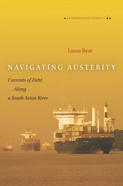 Cover of Navigating Austerity by Laura Bear