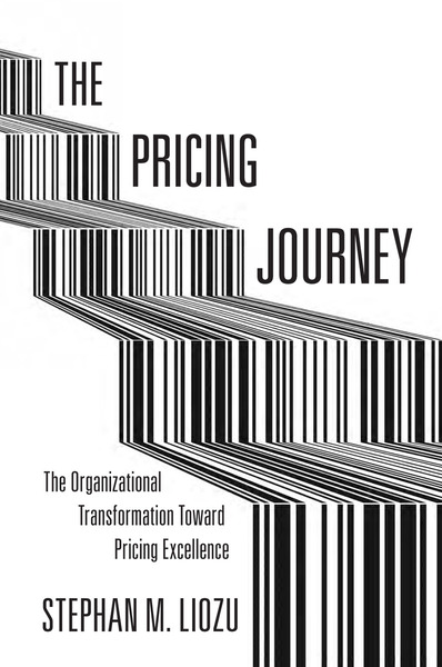Cover of The Pricing Journey by Stephan M. Liozu