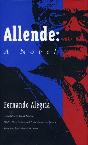 Cover of Allende - A Novel  by Fernando Alegría