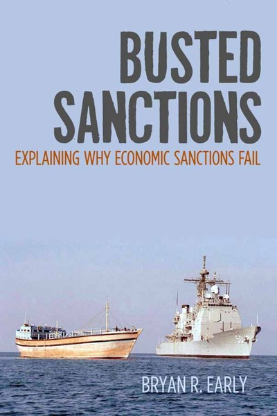 Cover of Busted Sanctions by Bryan R. Early