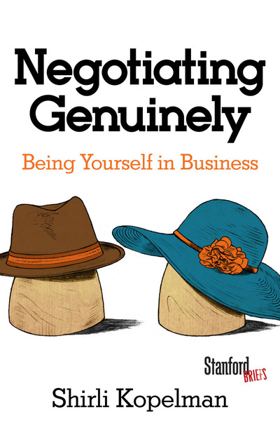 Cover of Negotiating Genuinely by Shirli Kopelman
