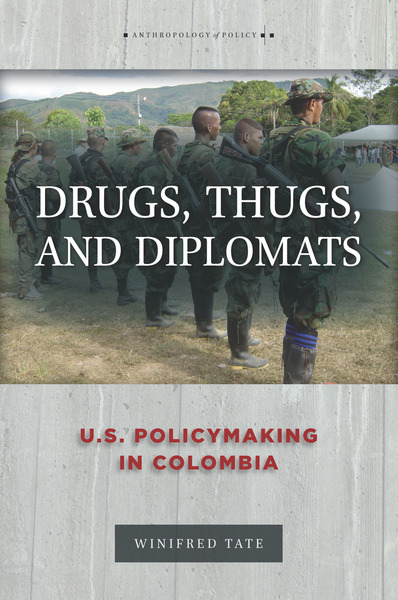Cover of Drugs, Thugs, and Diplomats by Winifred Tate