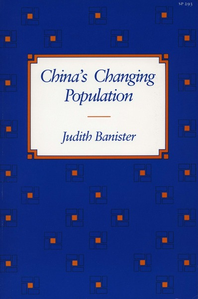 Cover of China's Changing Population by Judith Banister