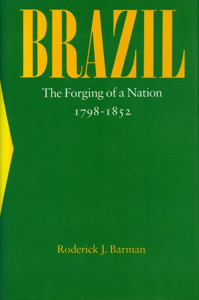 Cover of Brazil by Roderick J. Barman