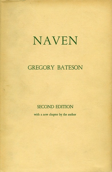 Cover of Naven by Gregory Bateson