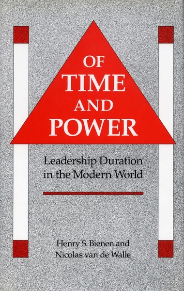 Cover of Of Time and Power by Henry S. Bienen and Nicolas van de Walle