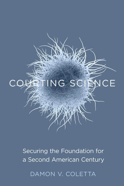 Cover of Courting Science by Damon V. Coletta