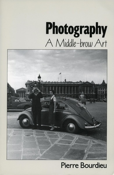 Cover of Photography by Pierre Bourdieu and associates Translated by Shaun Whiteside