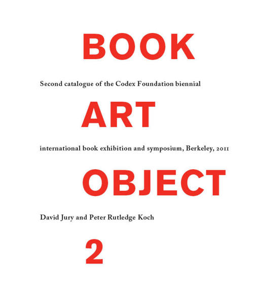 Cover of Book Art Object 2 by Peter Rutledge Koch and David Jury