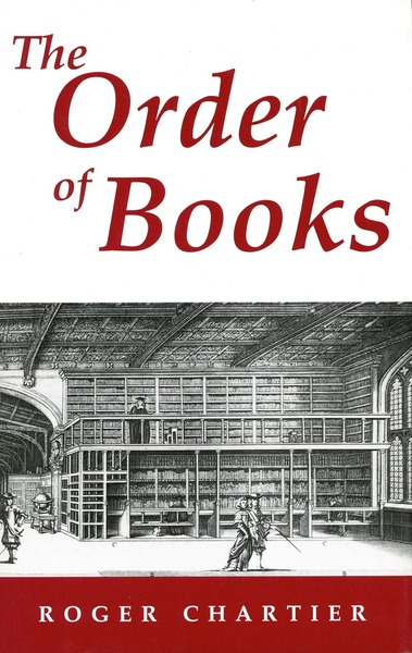Cover of The Order of Books by Roger Chartier