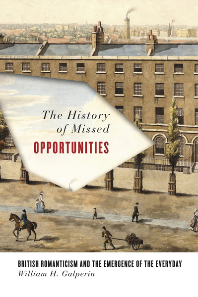 Cover of The History of Missed Opportunities by William H. Galperin