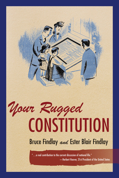 Cover of Your Rugged Constitution by Bruce Allyn and Ester Blair Findlay