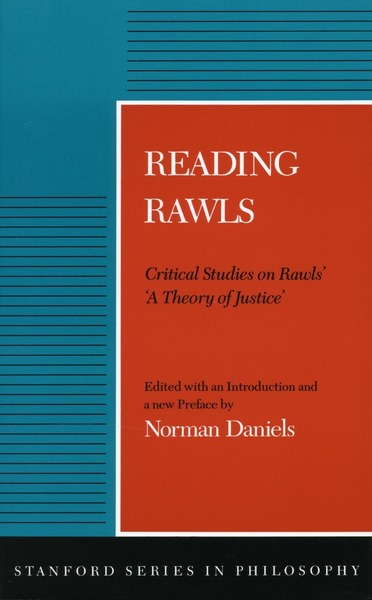 Cover of Reading Rawls by Edited by Norman Daniels
