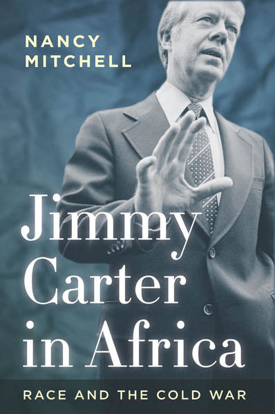 Cover of Jimmy Carter in Africa by Nancy Mitchell