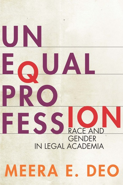 Cover of Unequal Profession by Meera E.  Deo