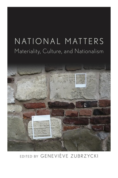 Cover of National Matters by Edited by Geneviève Zubrzycki