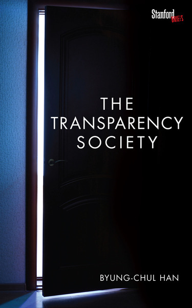 Cover of The Transparency Society by Byung-Chul Han