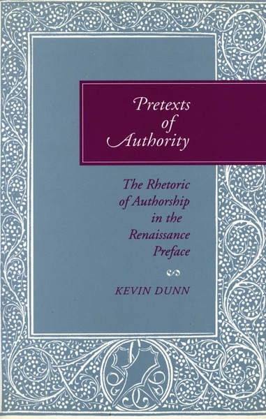Cover of Pretexts of Authority by Kevin Dunn