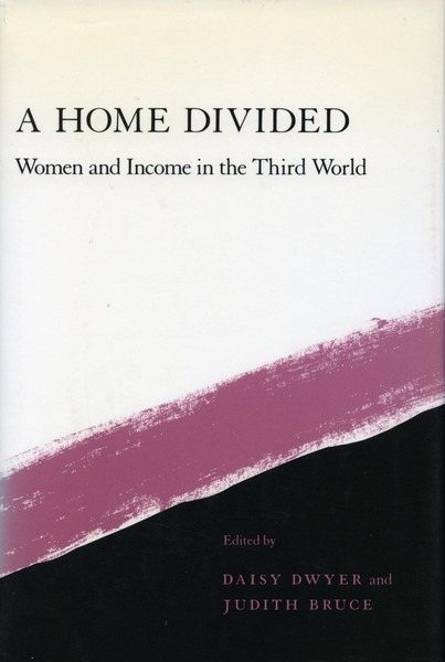 Cover of A Home Divided by Edited by Daisy Dwyer and Judith Bruce
