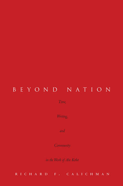 Cover of Beyond Nation by Richard F. Calichman