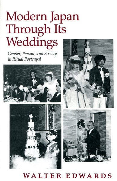Cover of Modern Japan Through Its Weddings by Walter Edwards