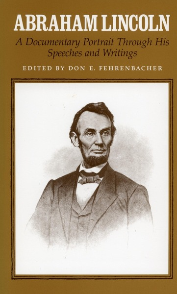 Cover of Abraham Lincoln by Don E. Fehrenbacher