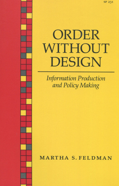 Cover of Order Without Design by Martha S. Feldman