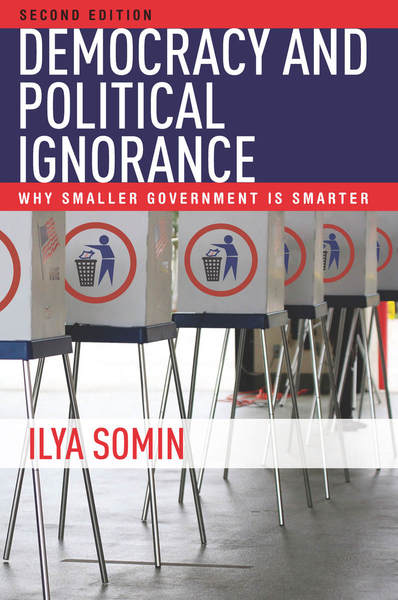 Cover of Democracy and Political Ignorance by Ilya Somin