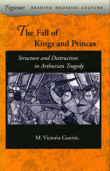 Cover of The Fall of Kings and Princes by M. Victoria Guerin